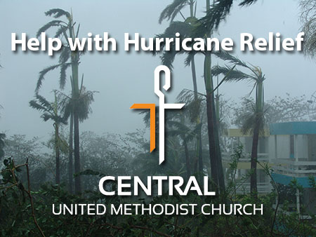 Hurricane relief at Waterford Central UMC