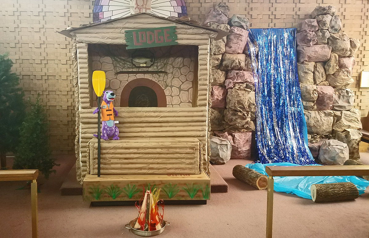 VBS 2018 Decorations - Rolling River Rampage