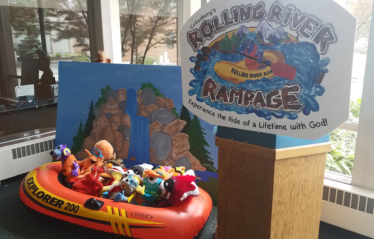 Decoration for VBS 2018 - Rolling River Rampage