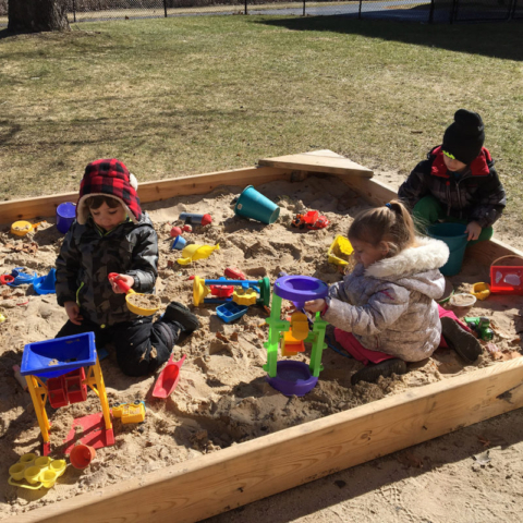 Little Sprouts Preschool Sandbox Waterford