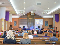Sanctuary Worship at Central UMC