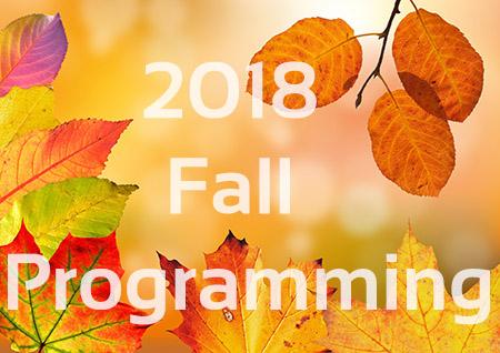 2018 Fall Programming